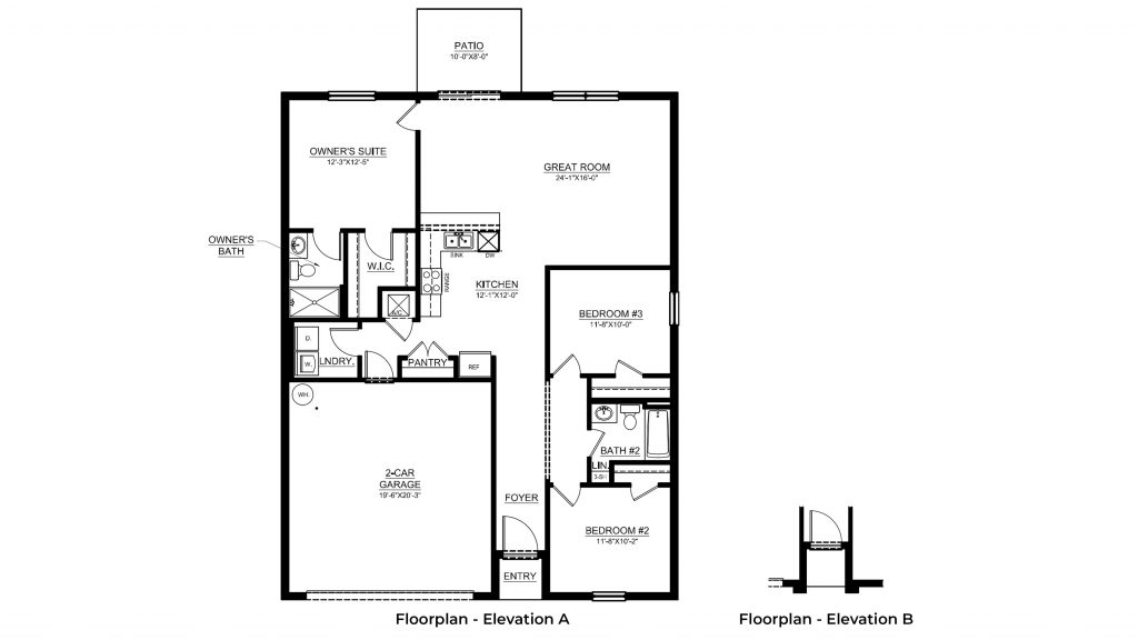 dakota floor plan