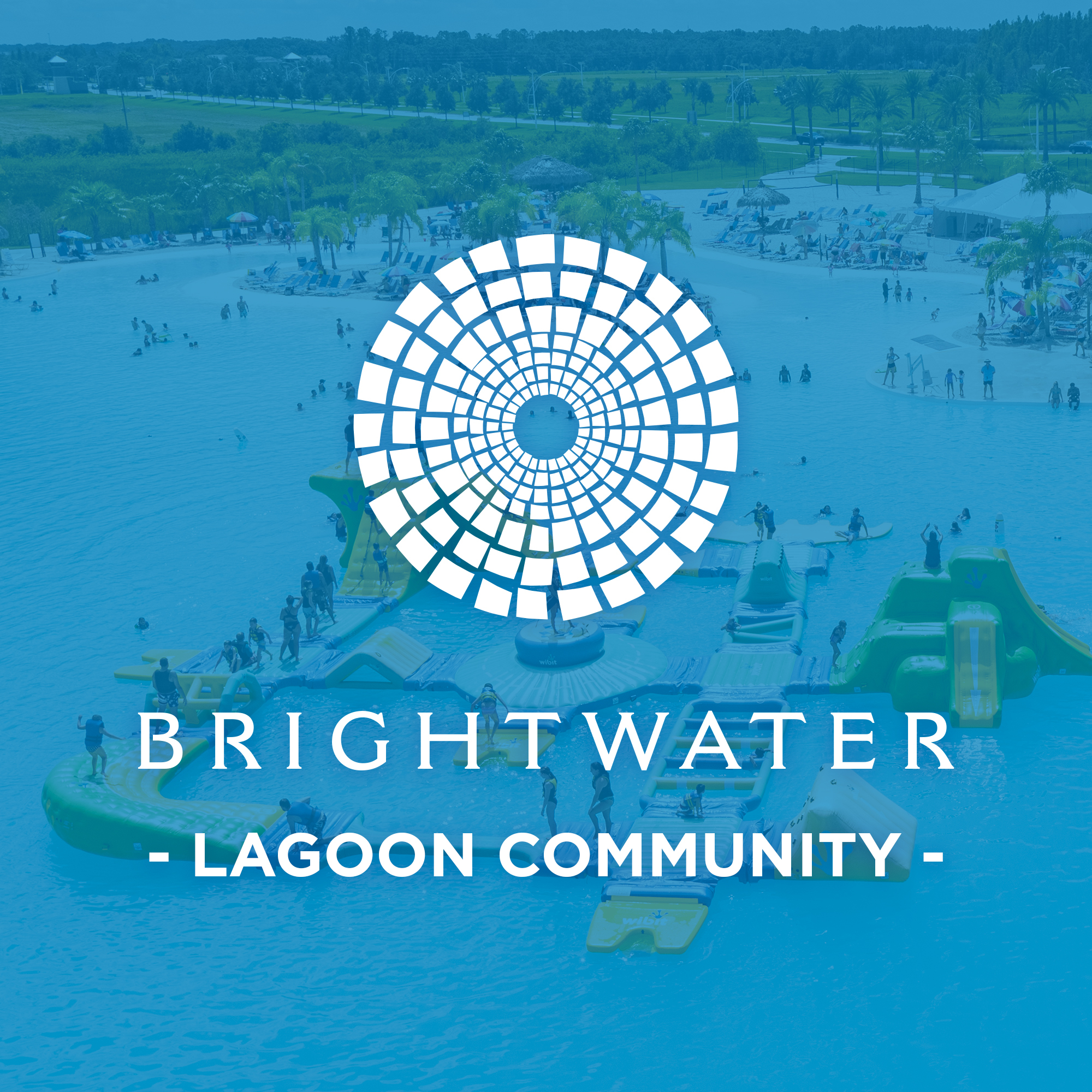 Brightwater Lagoon Block and Logo